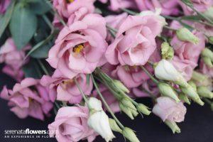 Lisianthus diy bouquet wedding flower floral