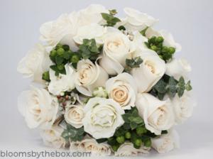 finished diy wedding bouquet